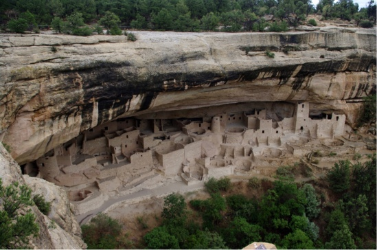Cliff Palace, Mesa Verde National Park, Colorado.