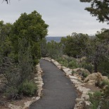Parts of trail are paved