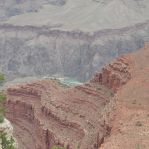 The Canyon below